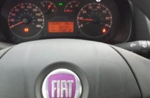 Reset service spanner light Fiat Fiorino