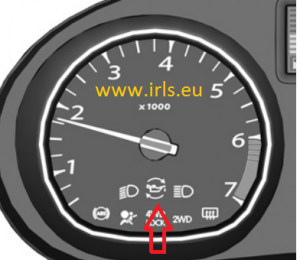 Resetting Oil Change Warning Light on 2009-2015 Dacia Duster